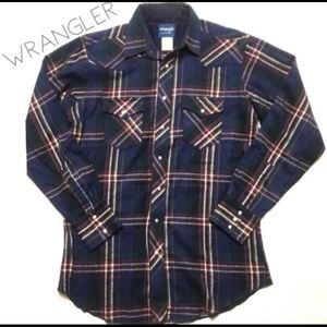 Wrangler Plaid Flannel